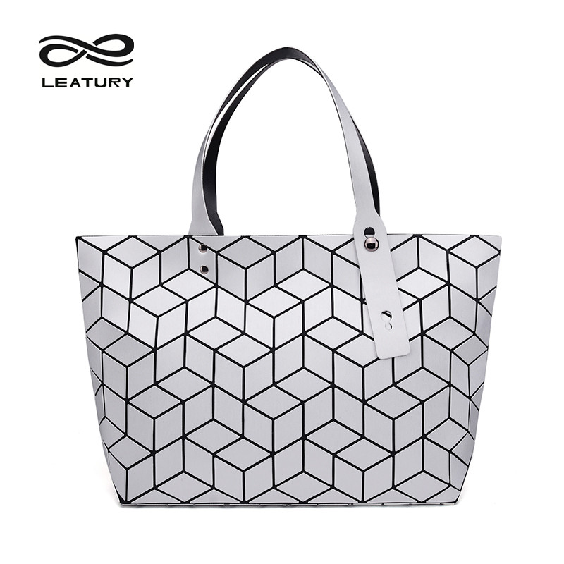 LEATURY 2017 Newest Women Bag Pretty Casual Tote Water Cube Style bao bao Handbag Designer Famous Brand Luxury Bag baobao bolsos<br><br>Aliexpress