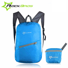 ROCKBROS Leisure Bicycle Bags Waterproof Sport Bags Ultralight Cycling Backpack Breathable Portable Folding Bags Accessories