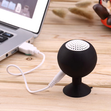 Mini Waterproof Silicone Sucker Holder octopus Shaped Speaker for phone MID PC MP3 with 3.5mm Jack