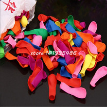 1000 pcs/lot NO3 mixing small balloons Inflatable water gun can target a small apple ball toy balloons