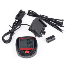 Cycling Bicycle Computer Leisure 14-Functions Waterproof Cycling Odometer Speedometer With LCD Display Cycle Bike Computers(China)