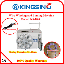 Cable Wire Coil Winding / WireAutomatic tie-ray machine Machine /Cable Wire Twist Tie Machine KS-K04 + Free Shipping by DHL(China)