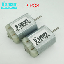 2 Pcs FC-280PC Dc 12 Volt Motors High Speed,Micro Motor,Mini Motor For Car Central Door Lock,Vehicle Rearview Mirror Window(China)