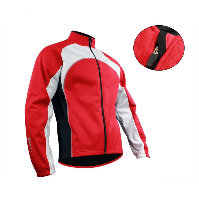 SANTIC Winter Cycling Jerseys Long Thermal Fleece Bike Coat Windproof Jersey Cycling Clothings For Men Brand Original<br>