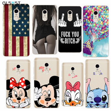 GLSHST Fashion Phone Cases For Redmi Note 4 Case Beautiful Popular Phone Back Cover Phone Case Silicone Phone Back Skin(China)