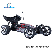 supercar rc car 1/10 scale electric powered brushless off road high speed buggy (item no. SEP1012TOP)