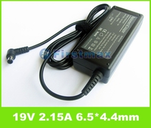 For sony laptop charger 19.5V 2.15A 6.5*4.4mm AC Power Adapter PCGA-ACX1