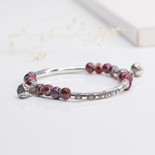 Hand catenary female Small pure and fresh and Tibetan silver accessories ceramic bracelet for girls women ladies  #DS2209
