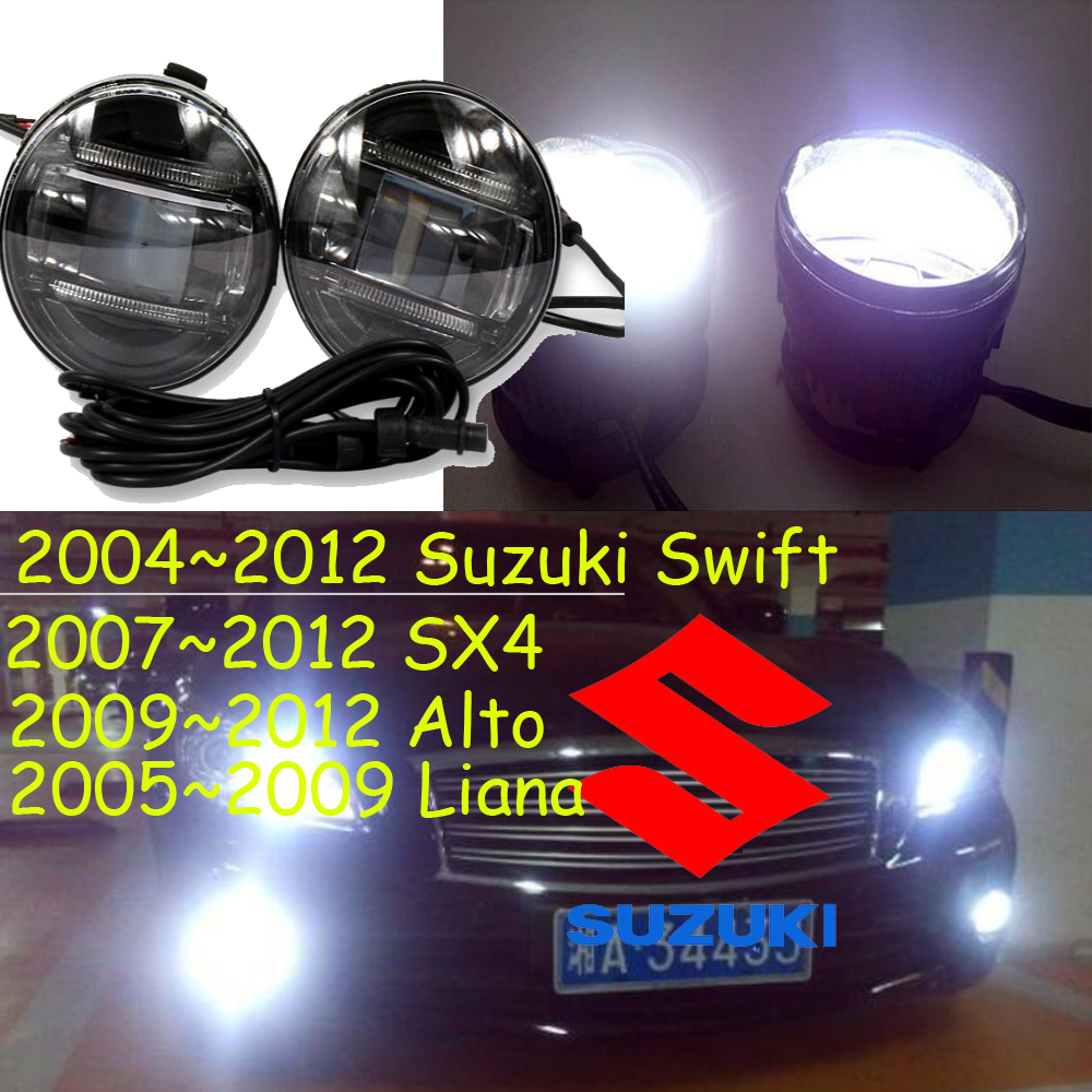 2004~2012 Swift fog light,LED,2007~2012 SX4 fog lamp,Free ship! 2009~2013 Alto daytime light,2ps/set+wire,2005~2009 Liana<br><br>Aliexpress