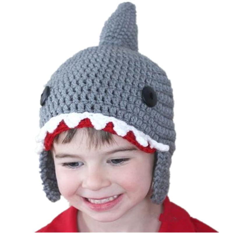 """""""Baby Shark"""" Shark Wool Hat for Children 1"""