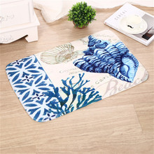 Ouneed Ocean Welcome Doormats Indoor Home Carpets Decor Rag Rug Bathmat Room Floor Mat*carpet*30 2017 hot sale tapete