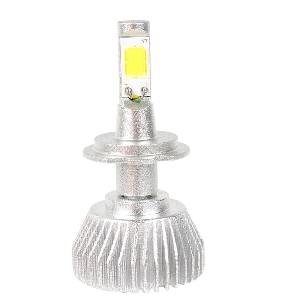 2pcs C6 series Head Light Unviersal Car LED Headlight Headlamp H7 COB Car-styling All In One Conversion Light #iCarmo<br><br>Aliexpress