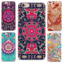 Case For Apple iPhone 7 6S 8 6 Plus X 4 5s Phone Case Flowers Patterned Series Cute Tropical Plants Protective Effects Hard PC(China)