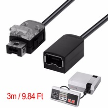 Wholesale Black 3M/9.84FT Extension Cable Cord For Nintendo Classic Mini for NES Console Controller(China)