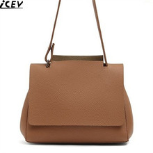 ICEV new casual tote bags soft leather women handbag of famous brand shoulder bag ladies large capacity shopping bag office work