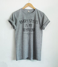 HARRY STYLES IS MY BOYFRIEND TSHIRT ONE DIRECTION STYLES T SHIRTS TUMBLR Women Liam Payne 93 1D Tee