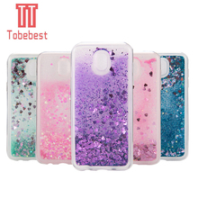 Buy Dynamic Glitter Liquid Quicksand Love Heart Bling TPU Cover Samsung Galaxy A3/A5/A7/J3/J5/J7 2016 2017 Prime J330 J530 J730 for $2.33 in AliExpress store