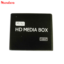 Mini HDMI Media Player 1080P Full HD USB Video Multimedia HDD Media Player video Mediaplayer support MKV/SD/USB/MMC/AV/Yprpb(China)