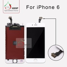 100 PCS/LOT  AAA Quality LCD For iPhone 6 Screen 100% No Dead Pixel Excellent Service Free Shipping DHL