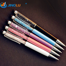 Buy 5 Pcs/lot Cute Kawaii Metal Diamond Crystal Ballpoint Pen Touch Ball Pen Ipad Iphone Gift School Office Supplies for $2.47 in AliExpress store