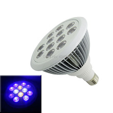 12W E27 Par 38 Par38 Led Spotlight Bulb Light Royal Blue+Cool White + Warm white + UV 110-220V For Aquarium Fish Tank Led Lamp