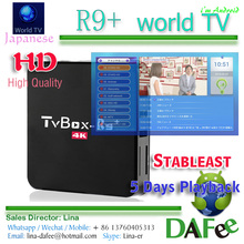 Watch Japanese TV Online Android 4K TV Box R9+ Japan IPTV 50 Live HD Channels With Playback Better Than iHOME Welcome Free Trial(China)