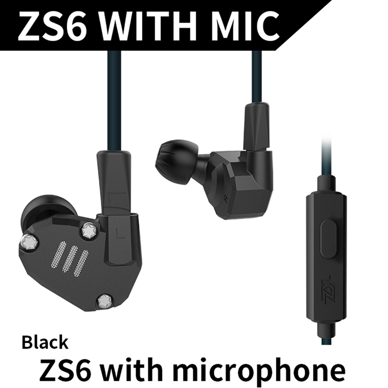 KZ In-ear Earphone Headset Portable Earphones with or no Mic Hearphones Compatible for Apple IPhone For Xiaomi Hearphone