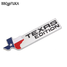 Auto Car Styling ABS Texas Edition Tail Emblem Badge Sticker Fit For Chevrolet SIERRA Silverado Ford F150 F250 F350 F450 F550(China)