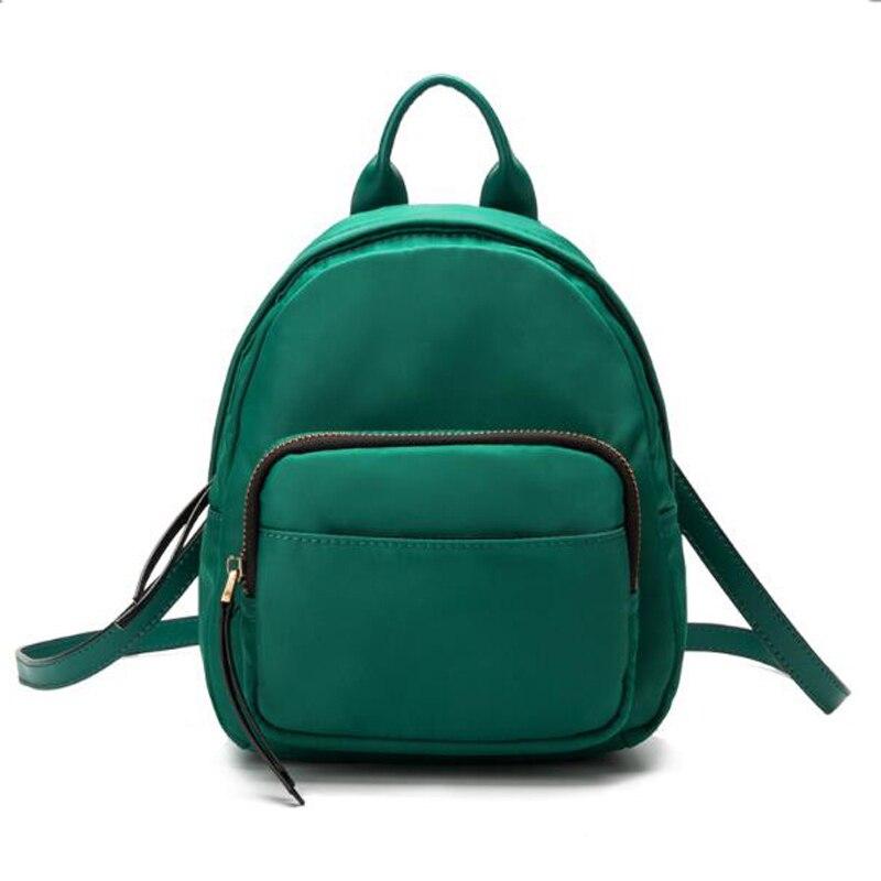 Fashion Women Korean Style Rucksacks School Backpack For Girls Mochila Brand Designer Bags Mini Small Travel Shoulder Bags <br>
