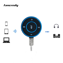 Wireless Bluetooth Aux Receiver 3.5 Jack Aux Bluetooth Hands Free Bluetooth Car Handsfree Kit A2DP Stereo Hands-free aux Adapter(China)