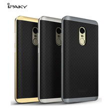 IPAKY Case Bumper PC+TPU Cover On For Xiaomi Redmi 3 3S 4 4A A S X Pro Note 4X Note3 Note4 Note4X Prime 3gb 16gb/32gb/64gb Xiomi