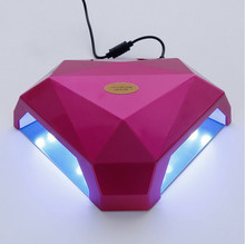 free shipping two hand LED Nail Lamp Nail Dryer Gel Polish Curing Light with Bottom 30s/60s/90s