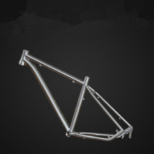 "Customization Titanium Mountain Bike frame 26 ""/27.5"" / 29 ""bicycle titanium frame outside line"