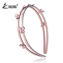 2016 New Fashion Hair Jewelry Luxury Crystal Flowers Hairbands PVC Hair Hoop Elegant Hairwear For Women Girls (DG840167)