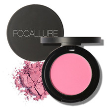 New 8 colors blush Soymilk matte pearl rouge Blush High Quality Make Up Face Blusher Cosmetics Maquiagem(China)