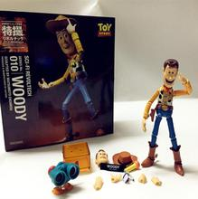 2017 NEW Toy Story Woody Series NO. 010 Sci-Fi Revoltech Special PVC Action Figure Collectible Toy  ,FG189