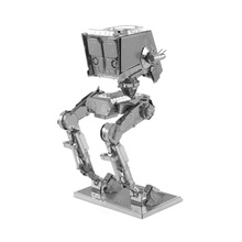 3D Metal Puzzle Model Toys Star Wars - ATST High Quality Metallic Steel Nano Intelligence Robot Model puzzles kids diy craft