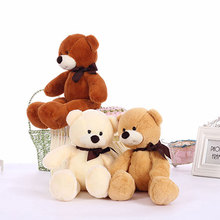 38cm Soft Cuddly Kids Toys Small Teddy Bears Stuffed Plush Toys for Children Girls GF Birthday Gifts(China)