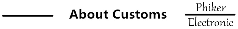 About customs