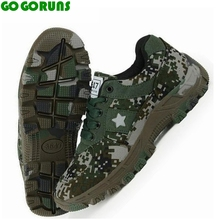 outdoor sports cross country mountain hiking shoes men breathable trekking camouflage Military trainer walking sneakers shoes
