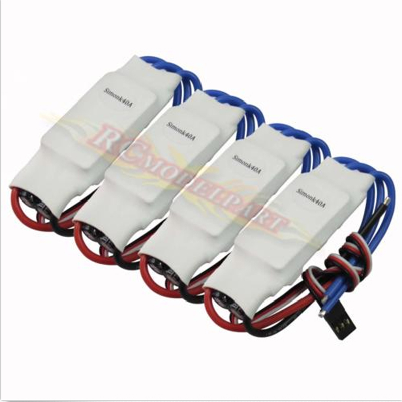 4x Simonk 40A Brushless Speed Controller ESC for SK500 F550 FY650 Quadcopter<br><br>Aliexpress