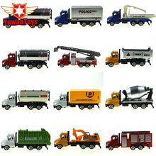 METAL Car Diecast Metal Cars Toys Alloy Toys Car Models Collectible Skin City Bulldozers Tractor Models Truck Toys For Children