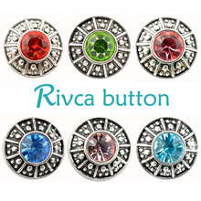 Buy D02795 Newest Crystal styles 20mm Metal Snap Button Fit Snap Bracelet&Bangles Charm Rhinestone Styles Button Rivca Snaps Jewelry for $2.16 in AliExpress store