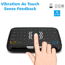 Mini Wireless Keyboard 2.4GHz Wireless Touchpad Keyboard with Full Mouse for Android TV Box Kodi HTPC IPTV PC PS3 Xbox 360 EM88