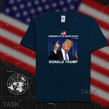 Donald Trump President of the United States of America USA mens t shirts fashion 2017 nation 100% cotton t-shirt clothing tees