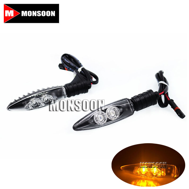 For BMW R1200GS R1200R R1200RS R1200GS ADV R1200 GS Adventure 2013-2016 Front / Rear LED Turn Signal Indicator Light Blinker#A<br>