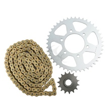 New Gold O-Ring Chain and Sprocket Kit For Kawasaki ZX-6RR N1 N6 N7 2005-2007 06(China)