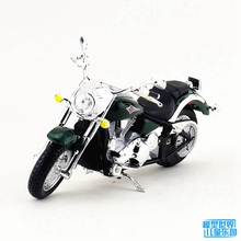 Maisto 5pcs/lot Wholesale Brand New 1/18 Scale Motorbike Model Toys KAWASAKI VULCAN 200 Diecast Metal Motorcycle Model Toy