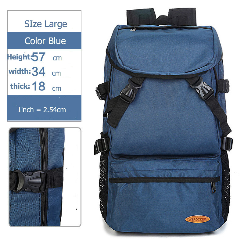 d072c05d1cf3 Big Large Capacity Nylon Backpacks Travel Backpack For Men Women ...