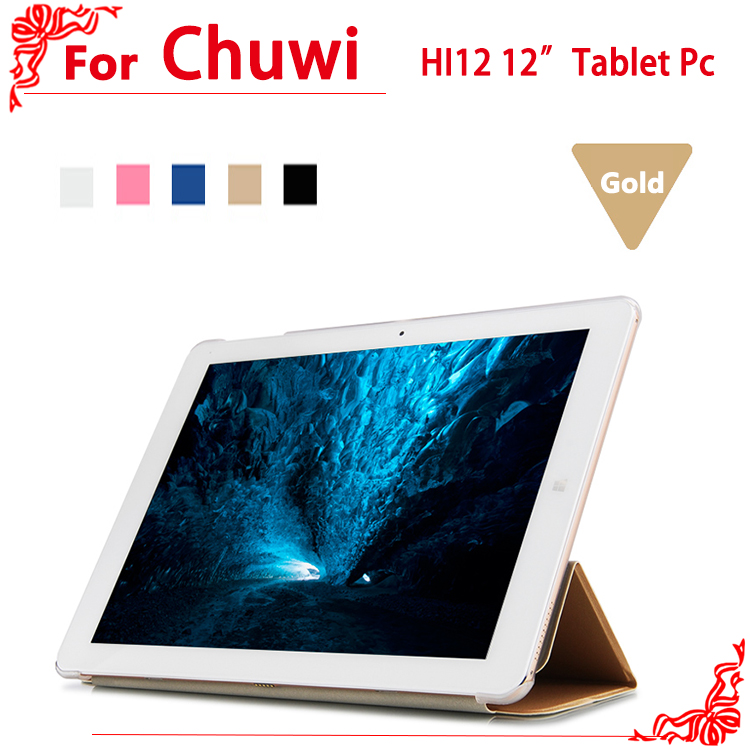 high quality Ultra-thin PU Leather Case For chuwi HI12 12tablet pc Hi12 case cover<br><br>Aliexpress